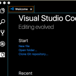 VS Code Welcome Page